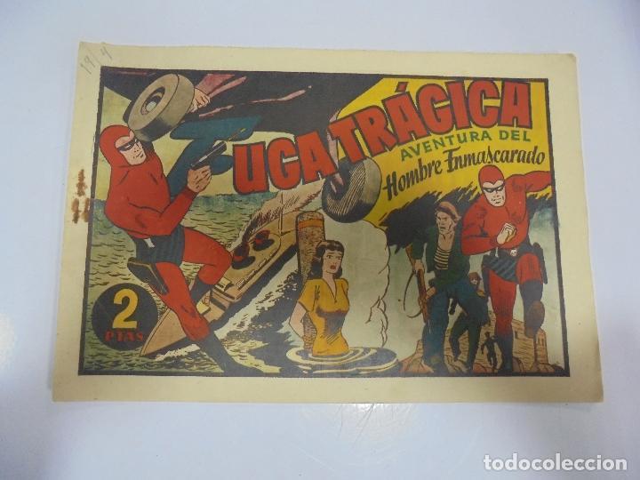 TEBEO. AVENTURA DEL HOMBRE ENMASCARADO. Nº 81. FUGA TRAGICA (Tebeos y Comics - Hispano Americana - Hombre Enmascarado)