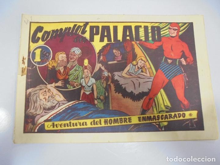 TEBEO. AVENTURA DEL HOMBRE ENMASCARADO. Nº 74. COMPLOT EN PALACIO (Tebeos y Comics - Hispano Americana - Hombre Enmascarado)