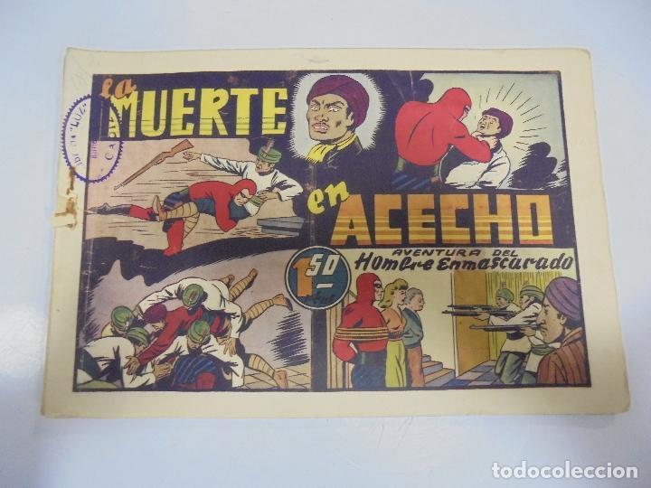 TEBEO. AVENTURA DEL HOMBRE ENMASCARADO. Nº 75. LA MUERTE EN ACECHO (Tebeos y Comics - Hispano Americana - Hombre Enmascarado)