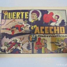 Tebeos: TEBEO. AVENTURA DEL HOMBRE ENMASCARADO. Nº 75. LA MUERTE EN ACECHO. Lote 108707291