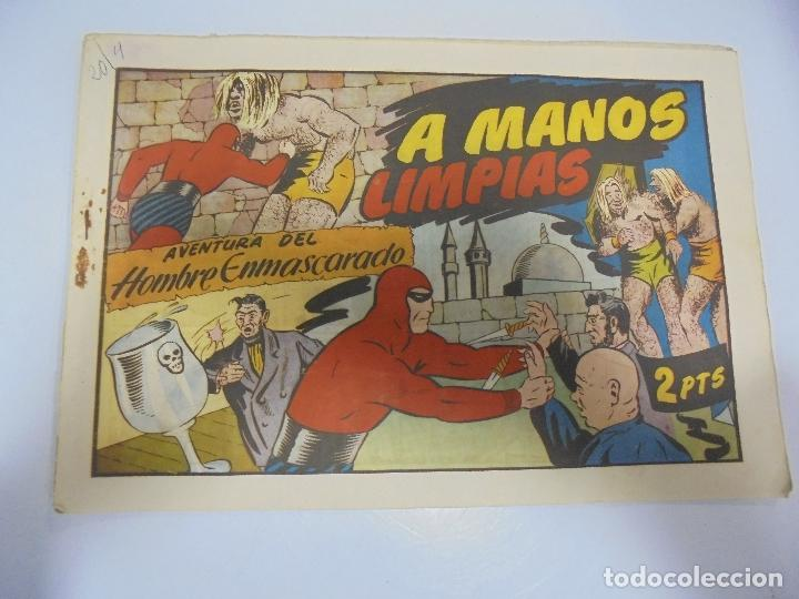 TEBEO. AVENTURA DEL HOMBRE ENMASCARADO. Nº 85. A MANOS LIMPIAS (Tebeos y Comics - Hispano Americana - Hombre Enmascarado)