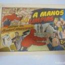 Tebeos: TEBEO. AVENTURA DEL HOMBRE ENMASCARADO. Nº 85. A MANOS LIMPIAS. Lote 108707379