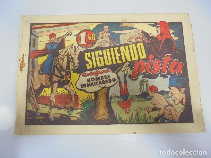 TEBEO. AVENTURA DEL HOMBRE ENMASCARADO. Nº 72. SIGUIENDO LA PISTA (Tebeos y Comics - Hispano Americana - Hombre Enmascarado)