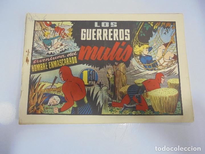TEBEO. AVENTURA DEL HOMBRE ENMASCARADO. Nº 69. LOS GUERREROS MULIS (Tebeos y Comics - Hispano Americana - Hombre Enmascarado)