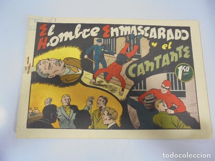 TEBEO. AVENTURA DEL HOMBRE ENMASCARADO. Nº 66. EL CANTANTE (Tebeos y Comics - Hispano Americana - Hombre Enmascarado)