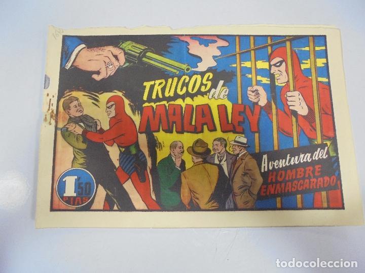 TEBEO. AVENTURA DEL HOMBRE ENMASCARADO. Nº 67. TRUCOS DE MALA LEY (Tebeos y Comics - Hispano Americana - Hombre Enmascarado)