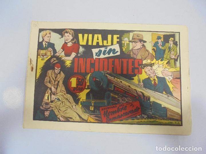 TEBEO. AVENTURA DEL HOMBRE ENMASCARADO. Nº 65. VIAJE SIN INCIDENTES (Tebeos y Comics - Hispano Americana - Hombre Enmascarado)