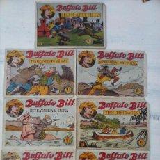 Tebeos: BUFFALO BILL ORIGINALES HISPANO AMERICANA 1958 - 1,4,5,6,7,9,12 MUY DIFICILES. Lote 108756879
