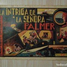 Tebeos: LA INTRIGA DE LA SEÑORA PALMER. Nº 15 DE EL HOMBRE ENMASCARADO. HISPANO AMERICANA. 1941. RAY MOORE. Lote 108784035