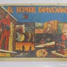 Tebeos: EL HOMBRE ENMASCARADO. Nº 3. HISPANO AMERICANA DE EDICIONES. TAPA DURA. VER. Lote 108861235