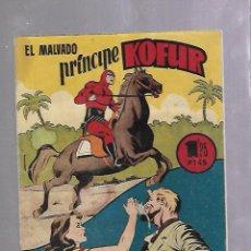 Tebeos: TEBEO. EL MALVADO PRINCIPE KOFUR. AVENTURA DEL HOMBRE ENMASCARADO. Nº 27. Lote 108878095