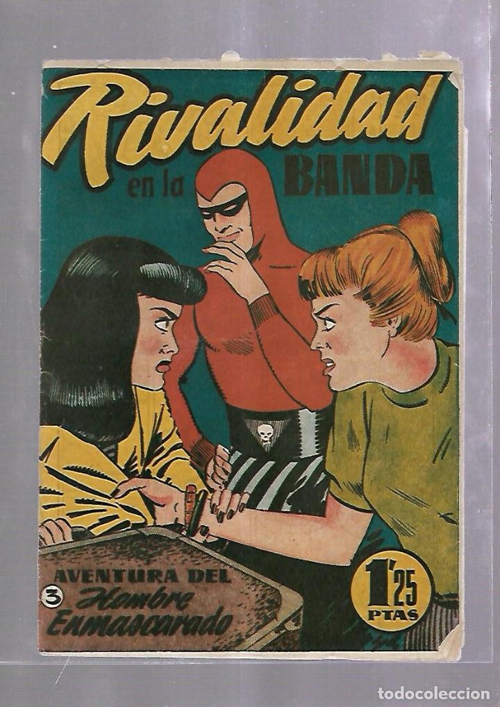 TEBEO. RIVALIDAD EN LA BANDA. AVENTURA DEL HOMBRE ENMASCARADO. Nº 3 (Tebeos y Comics - Hispano Americana - Hombre Enmascarado)