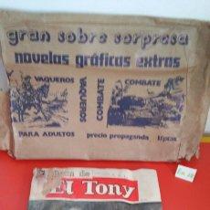 Tebeos: ALBUM NOVELAS COMPLETAS EL TONY N° 275 2/1972 CON SOBRE ORIGINAL.EDITORIAL COLUMBA.SIN USO.. Lote 108911879
