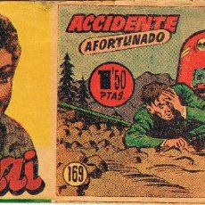 Tebeos: SUCHAI Nº 169. ACCIDENTE AFORTUNADO. ORIGINAL . Lote 109091507