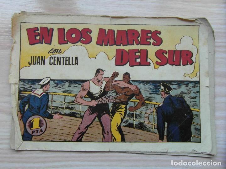 EN LOS MARES DEL SUR. Nº 68 DE AUDAZ. JUAN CENTELLA. HISPANO AMERICANA. 1940. C. COSSIO (Tebeos y Comics - Hispano Americana - Juan Centella)
