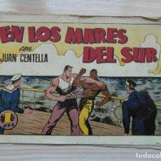 Tebeos: EN LOS MARES DEL SUR. Nº 68 DE AUDAZ. JUAN CENTELLA. HISPANO AMERICANA. 1940. C. COSSIO. Lote 109159715