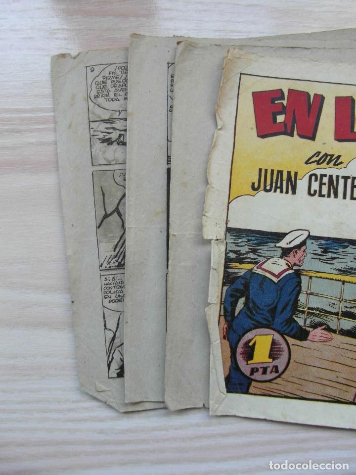 Tebeos: En los mares del sur. Nº 68 de Audaz. Juan Centella. Hispano Americana. 1940. C. Cossio - Foto 2 - 109159715