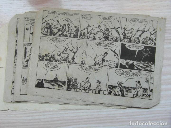 Tebeos: En los mares del sur. Nº 68 de Audaz. Juan Centella. Hispano Americana. 1940. C. Cossio - Foto 3 - 109159715