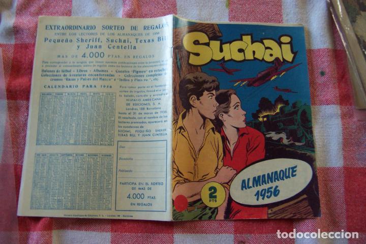 Tebeos: hispano americana, lote de 225 nº de suchai y almanaque 1955 y 1956 - Foto 19 - 84704212