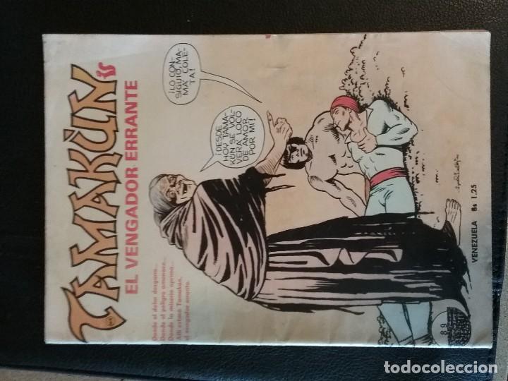 COMIC TAMA?ÚN EL VENGADOR ERRANTE VENEZUELA AÑO 2 NÚMERO 89 EDITORIAL AMÉRICA (Tebeos y Comics - Hispano Americana - Otros)