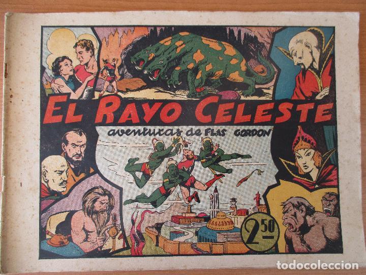 Tebeos: FLAS GORDON SERIE EXTRA, COMPLETA 9 CUADERNOS. ORIGINALES HISPANO AMERICANA. - Foto 2 - 110408247