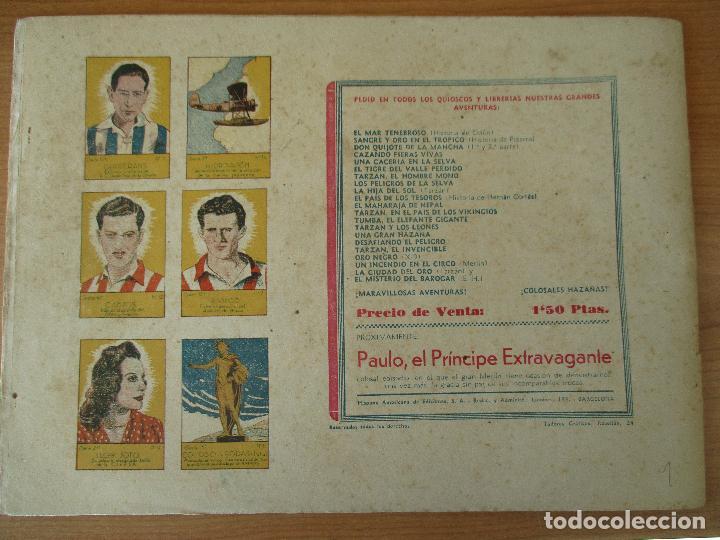 Tebeos: FLAS GORDON SERIE EXTRA, COMPLETA 9 CUADERNOS. ORIGINALES HISPANO AMERICANA. - Foto 3 - 110408247