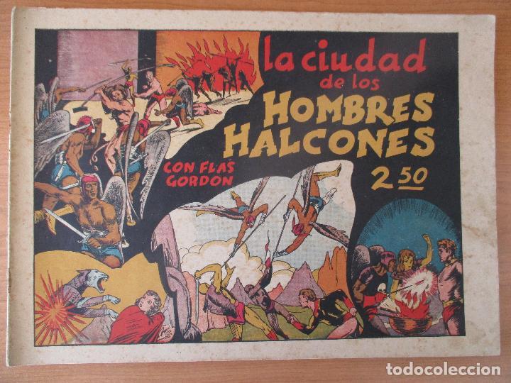 Tebeos: FLAS GORDON SERIE EXTRA, COMPLETA 9 CUADERNOS. ORIGINALES HISPANO AMERICANA. - Foto 4 - 110408247