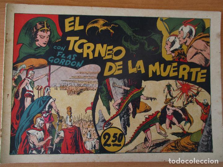 Tebeos: FLAS GORDON SERIE EXTRA, COMPLETA 9 CUADERNOS. ORIGINALES HISPANO AMERICANA. - Foto 6 - 110408247