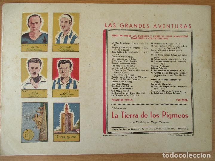 Tebeos: FLAS GORDON SERIE EXTRA, COMPLETA 9 CUADERNOS. ORIGINALES HISPANO AMERICANA. - Foto 7 - 110408247