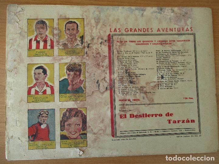 Tebeos: FLAS GORDON SERIE EXTRA, COMPLETA 9 CUADERNOS. ORIGINALES HISPANO AMERICANA. - Foto 9 - 110408247