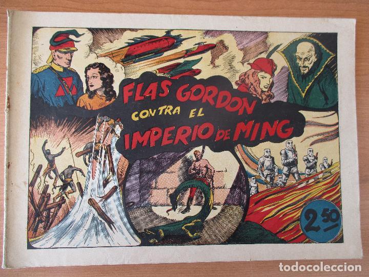 Tebeos: FLAS GORDON SERIE EXTRA, COMPLETA 9 CUADERNOS. ORIGINALES HISPANO AMERICANA. - Foto 11 - 110408247