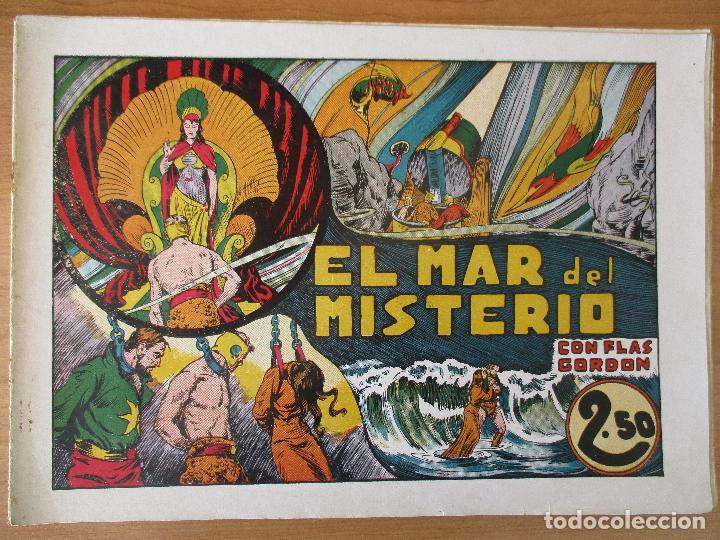 Tebeos: FLAS GORDON SERIE EXTRA, COMPLETA 9 CUADERNOS. ORIGINALES HISPANO AMERICANA. - Foto 13 - 110408247