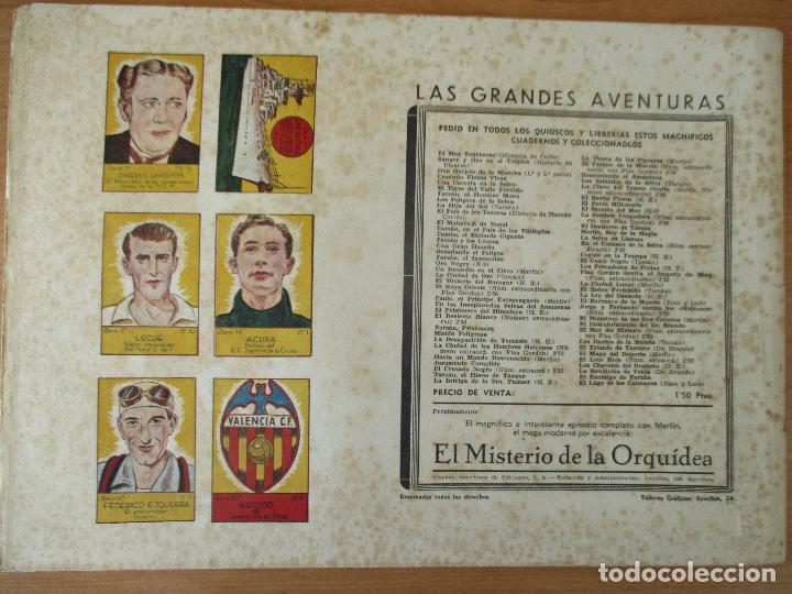 Tebeos: FLAS GORDON SERIE EXTRA, COMPLETA 9 CUADERNOS. ORIGINALES HISPANO AMERICANA. - Foto 16 - 110408247