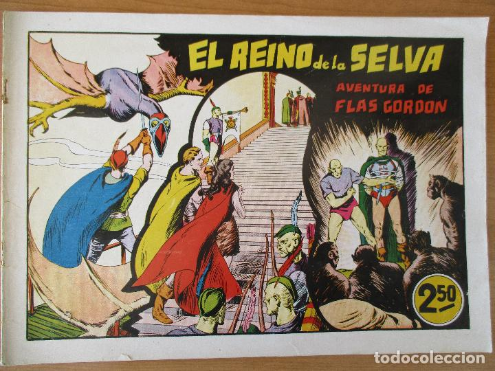 Tebeos: FLAS GORDON SERIE EXTRA, COMPLETA 9 CUADERNOS. ORIGINALES HISPANO AMERICANA. - Foto 17 - 110408247