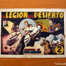 Tebeos: FLAS GORDON (G.A.E.) - Nº 9 - LA LEGIÓN DEL DESIERTO - HISPANO AMERICANA 1942 - TAMAÑO 25X35. Lote 110471647