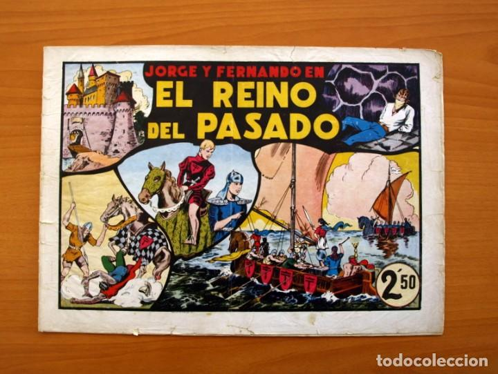 LAS GRANDES AVENTURAS - Nº 11, EL REINO DEL PASADO (JORGE Y FERNANDO) - HISPANO AMERICANA 1942 (Tebeos y Comics - Hispano Americana - Jorge y Fernando)