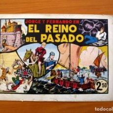 Tebeos: LAS GRANDES AVENTURAS - Nº 11, EL REINO DEL PASADO (JORGE Y FERNANDO) - HISPANO AMERICANA 1942. Lote 110471915