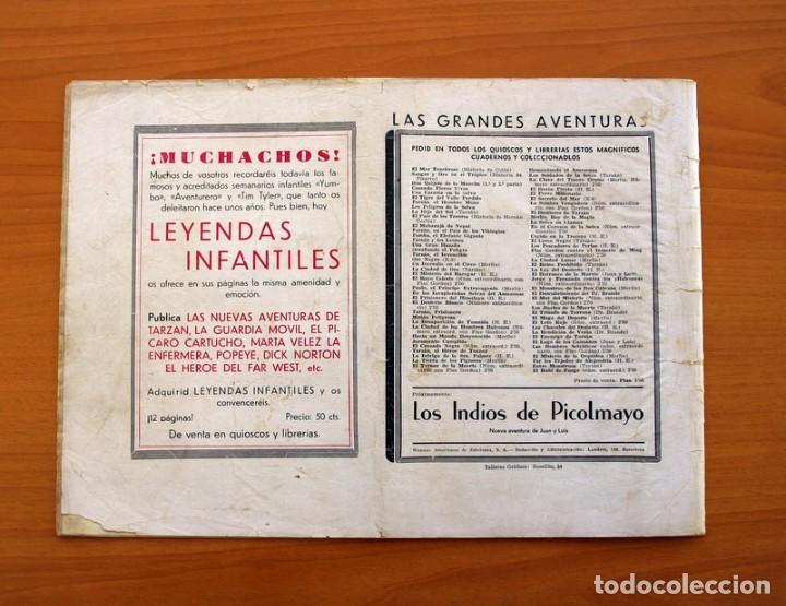 Tebeos: Las grandes aventuras - nº 11, El Reino del pasado (Jorge y Fernando) - Hispano Americana 1942 - Foto 7 - 110471915