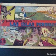 Tebeos: CARLOS EL INTREPIDO .COMPLETA 1ªEPOCA ( 8 NÚMEROS)(1942, HISPANO AMERICANA). Lote 110507367