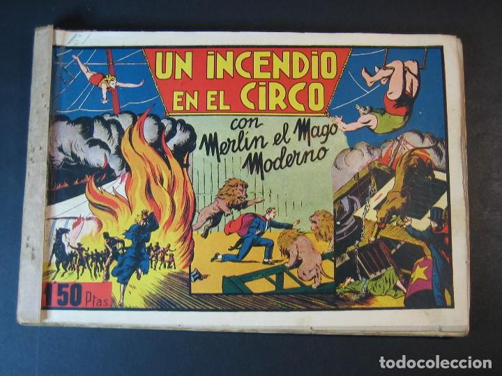 MERLIN (1942, HISPANO AMERICANA) LOTE Nº : 1 AL 21 (Tebeos y Comics - Hispano Americana - Merlín)