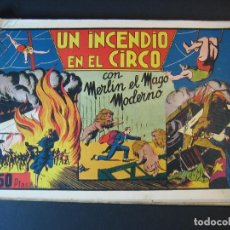 Tebeos: MERLIN (1942, HISPANO AMERICANA) LOTE Nº : 1 AL 21. Lote 110589503