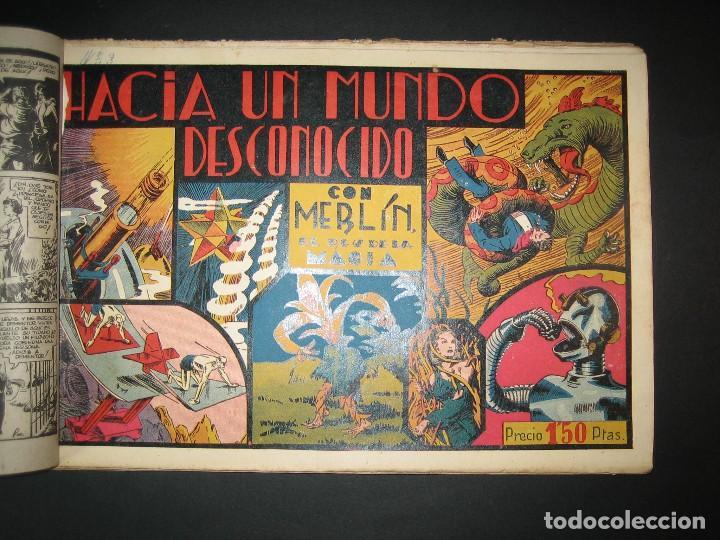 Tebeos: MERLIN (1942, HISPANO AMERICANA) LOTE Nº : 1 AL 21 - Foto 3 - 110589503