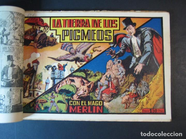 Tebeos: MERLIN (1942, HISPANO AMERICANA) LOTE Nº : 1 AL 21 - Foto 5 - 110589503