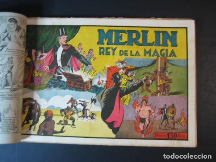 Tebeos: MERLIN (1942, HISPANO AMERICANA) LOTE Nº : 1 AL 21 - Foto 6 - 110589503