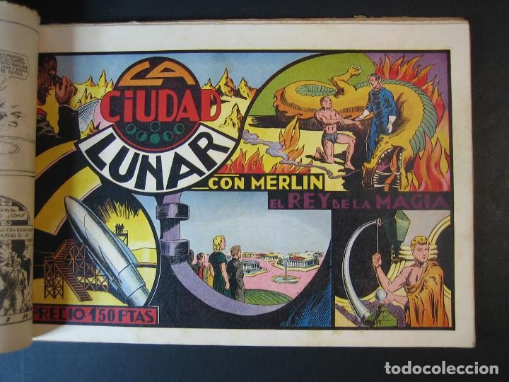 Tebeos: MERLIN (1942, HISPANO AMERICANA) LOTE Nº : 1 AL 21 - Foto 7 - 110589503