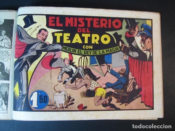 Tebeos: MERLIN (1942, HISPANO AMERICANA) LOTE Nº : 1 AL 21 - Foto 11 - 110589503