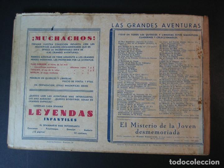 Tebeos: MERLIN (1942, HISPANO AMERICANA) LOTE Nº : 1 AL 21 - Foto 12 - 110589503