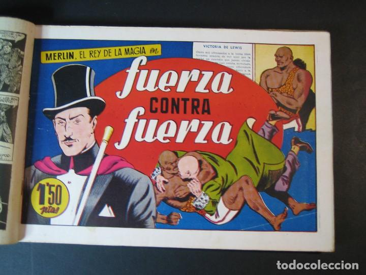 Tebeos: MERLIN (1942, HISPANO AMERICANA) LOTE Nº : 1 AL 21 - Foto 14 - 110589503