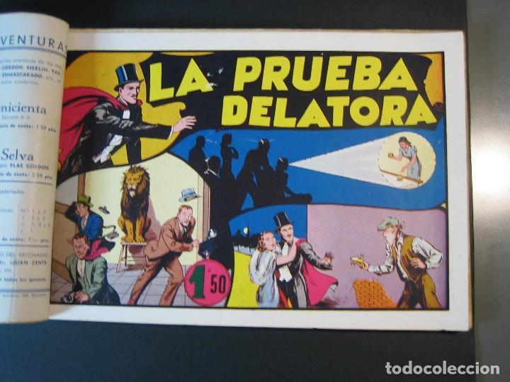Tebeos: MERLIN (1942, HISPANO AMERICANA) LOTE Nº : 1 AL 21 - Foto 16 - 110589503