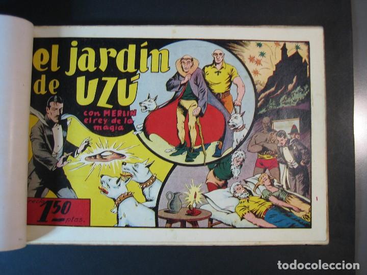 Tebeos: MERLIN (1942, HISPANO AMERICANA) LOTE Nº : 1 AL 21 - Foto 18 - 110589503